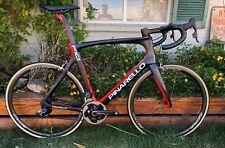 Pinarello Dogma F10 Road Bike Lava Color SRAM eTap Quarq DZero Power Meter