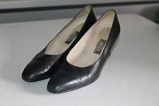 Bellezza Bally Maggiore-03 Navy Pumps Shoes Made In Switzerland Size 8 C