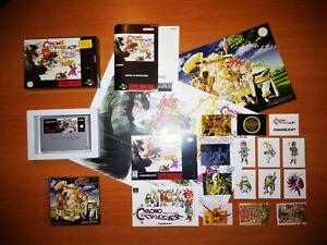 CHRONO TRIGGER PAL en ESPAÑOL - Super Nintendo - SNES - Squaresoft