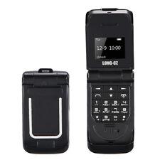 Light Weight Unlocked Black World Mini Smallest Flip Mobile Phone NEW