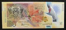Trinidad and Tobago Polymer Banknote 50 Dollars 2014 UNC