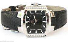Breil bw0073 reloj mujer style piel negro swarovski