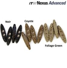 4 Pièces Tac Toggle ITW Nexus Military FOLIAGE GREEN