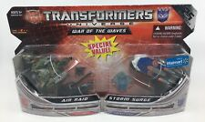 Transformers Universe Air Raid vs Storm Surge - Hasbro Walmart Exclusive Figures