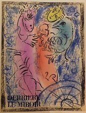 Marc Chagall Le Piège 1962 Lithographie pour le Revue Derrière le Miroir