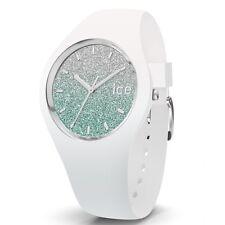 Ice-Watch Ice-Lo White türkis small Uhr Damenuhr Kautschuk Weiß 013426