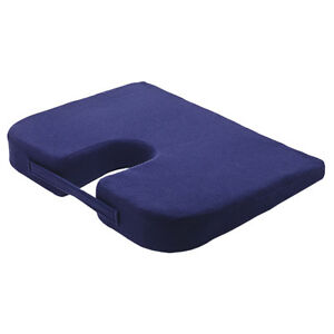 Drive Coccyx Wedge Shaped Pressure Pain Relief Cushion CX001 with Zip Cover