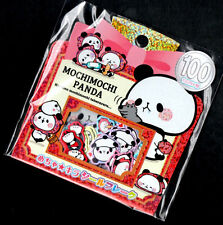Mochi Panda Sticker Sack Flakes seals Kawaii Red Riding Hood Kamio Japan