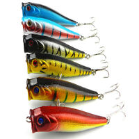 New 10pcs Lot Mixed Fishing Lures Crankbaits Hooks Minnow Baits Tackle 16 Kinds