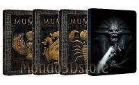 LA MUMMIA QUADRILOGIA Steelbook Edition (4 BLU-RAY) 4 Box Singoli Saga Completa