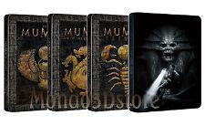 LA MUMMIA QUADRILOGIA Steelbook Edition (4 BLU-RAY) 4 Dischi Singoli