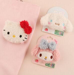 Miniso X Sanrio Two Ways Accessories Kawaii Cinnamoroll PomPomPurin Kitty Melody