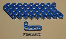 Lego Technic Technik 10 Liftarme 2x4 Löcher #32140 blau