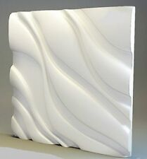 3D Decorative wall panels ABS Plastic molds Plaster Gypsum alabaster COSINESS