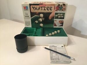 Vintage 1982 Yahtzee Dice Game By MB Games