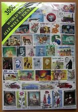 STAMP JUMBO SIZE- 3000 MIXED WORLD STAMPS-USED OFF PAPER-ALL DIFFERENT