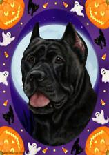 Cane Corse Black Halloween Howls Flag