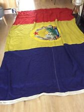 More details for large vintage republica   romania  socialista flag 182.88 cms x 274.32 cms