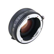 ZYOptics Mitakon Zhongyi Lens Turbo II Speedbooster Nikon F Ai-s to Sony E Mount