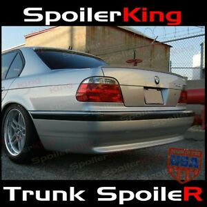 SpoilerKing 244L Rear trunk lip spoiler (Fits: BMW 7 series 1994-01 e38)