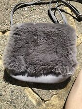 Next Fur Bag Grey