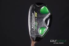 Nickent 4DX IW Ironwood 3 Hybrid 20° Stiff Left-H Graphite Golf Club #892