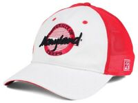 Maryland Terrapins The Game NCAA Circle Stretch Cap - FlexFitted Hat OSFM Red