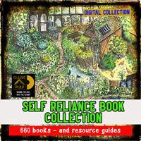 Self Reliance, farm, skills Huge collection -bees, animals, garden, 650 books