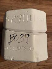 Scioto S2900A Lg Chocolate Drop Spook Top Slip Casting Ceramic Mold