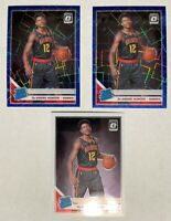 2018-19 Optic DeAndre Hunter 3 ct Rookie RC Lot Blue Velocity & Base #198