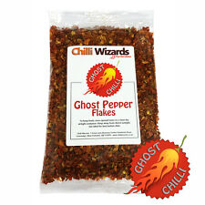 Ghost Pepper Chilli Flakes (Naga Jolokia)  25g - SALE
