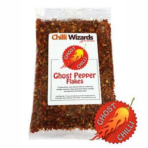 Ghost Pepper Chilli Flakes (Naga Jolokia)  25g - SALE