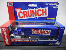 AUTO WORLD ~ Nestle Crunch Racing Rig ~ New in Box ~ ALSO FITS AFX, AW