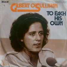 "7"" 1976 RARE VG++! GILBERT O´SULLIVAN : To Each His Own"