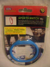 NEW ION  ULTRA LIGHT SPORTS WATCH 10g (IM 202) SIZE 17cm   WATER RESISTANT