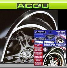 E-Tech CHROME Car Wheel Arch Edge Guard Paintwork Protector 5m Adhesive Roll
