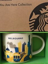 NEW Starbucks 2016 MELBOURNE Australia Your Are Here YAH mug NEW!