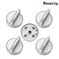W10594481 Range Knob Stainless Steel Stove Replacement for Whirlpool (5 Pack)