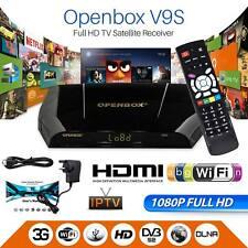 GENUINE OPENBOX V9S FHD UK Freesat Smart TV Digital Satellite Receiver Box IPTV