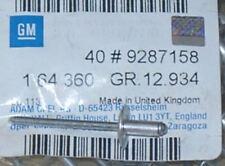 40x Nieten für Radlaufleiste Ascona B Manta B ORIGINAL OPEL 164360