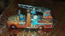 VINTAGE Tin Toy Autopompa