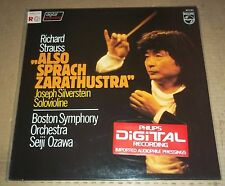 Ozawa STRAUSS Also Sprach Zarathustra - Philips 6514 221 SEALED