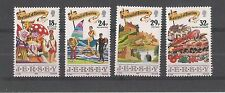 JERSEY 1990 FESTIVAL OF TOURISM SG,521-524 UM/M N/H LOT R56