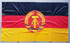ORIGINAL VINTAGE EX-ARMY DDR GDR EAST GERMAN FLAG COLD WAR WARSAW PACT 60x100
