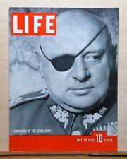 Life Magazine - May 30, 1938 - Czech General - Man Mountain Dean - nice Coke ad