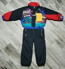 Vintage Obermeyer Ski Snow Suit Youth size 5 Reversible One Piece Ski Suit