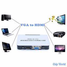 VGA to HDMI Video Converter BOX with Audio Port Analog-digital Conversion 1080P