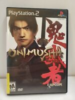 💥Onimusha: Warlords (Sony PlayStation 2 PS2 🎮) Complete Black Label FREE SHIPP