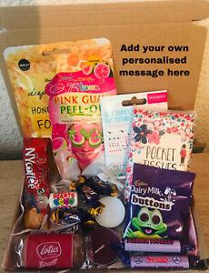 Ladies Pamper Hamper Personalised Letterbox Birthday Valentines Gift Box for Her