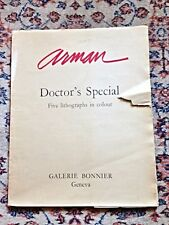 """ARMAN """"Doctor's Special"""" Lithographs Set of 5, ltd ed. - Original Numbered"""